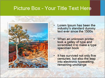Snow storm PowerPoint Template - Slide 13