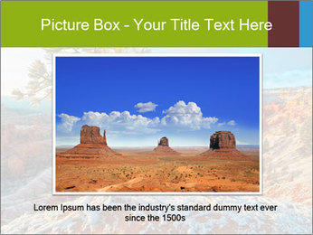 Snow storm PowerPoint Template - Slide 15