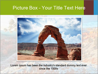 Snow storm PowerPoint Template - Slide 16