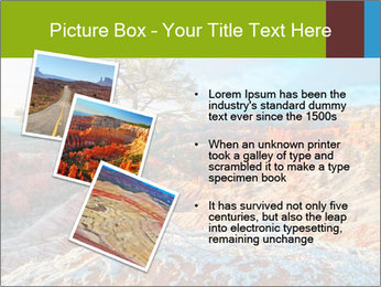 Snow storm PowerPoint Template - Slide 17