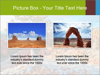 Snow storm PowerPoint Template - Slide 18