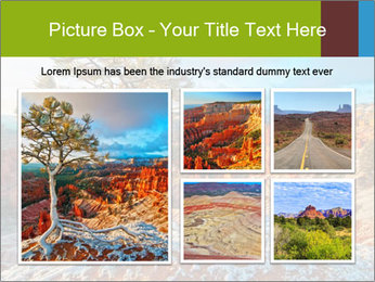 Snow storm PowerPoint Template - Slide 19
