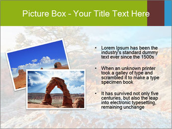 Snow storm PowerPoint Template - Slide 20