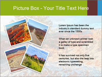 Snow storm PowerPoint Template - Slide 23
