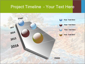 Snow storm PowerPoint Template - Slide 26