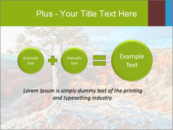 Snow storm PowerPoint Template - Slide 75