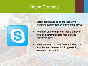Snow storm PowerPoint Template - Slide 8