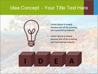 Snow storm PowerPoint Template - Slide 80