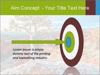 Snow storm PowerPoint Template - Slide 83