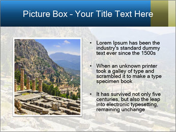 Ruins of Apollo temple PowerPoint Template - Slide 13
