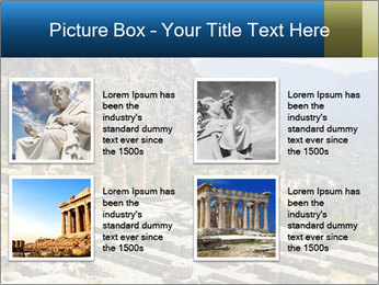 Ruins of Apollo temple PowerPoint Template - Slide 14
