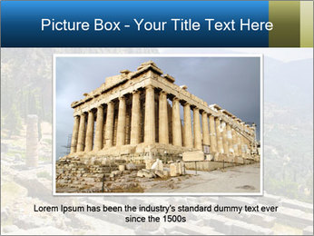 Ruins of Apollo temple PowerPoint Template - Slide 15