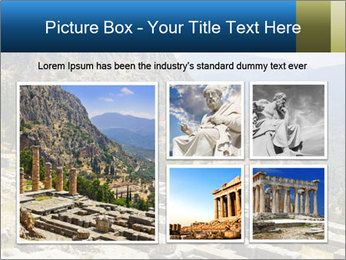 Ruins of Apollo temple PowerPoint Template - Slide 19
