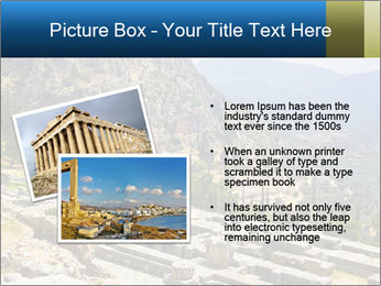 Ruins of Apollo temple PowerPoint Template - Slide 20