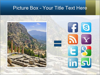 Ruins of Apollo temple PowerPoint Template - Slide 21