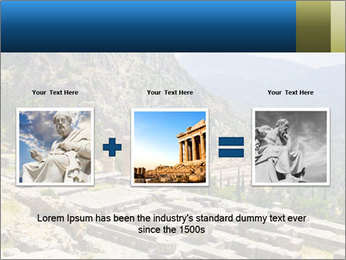 Ruins of Apollo temple PowerPoint Template - Slide 22