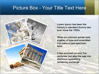 Ruins of Apollo temple PowerPoint Template - Slide 23