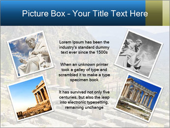 Ruins of Apollo temple PowerPoint Template - Slide 24