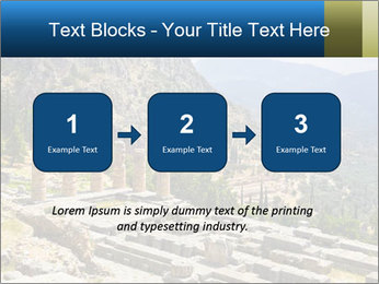 Ruins of Apollo temple PowerPoint Template - Slide 71