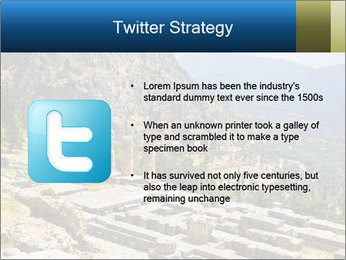 Ruins of Apollo temple PowerPoint Template - Slide 9