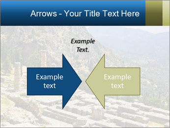 Ruins of Apollo temple PowerPoint Template - Slide 90