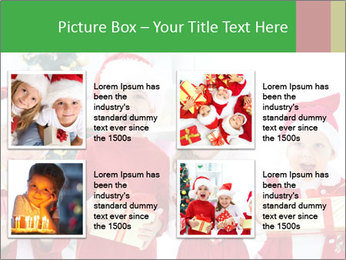 Four children in Christmas PowerPoint Template - Slide 14
