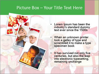 Four children in Christmas PowerPoint Template - Slide 17