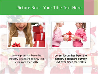 Four children in Christmas PowerPoint Template - Slide 18