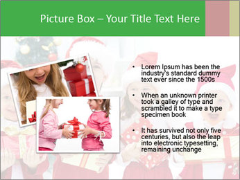 Four children in Christmas PowerPoint Template - Slide 20