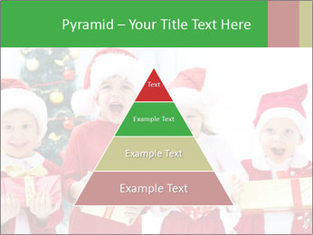 Four children in Christmas PowerPoint Template - Slide 30