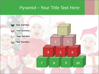 Four children in Christmas PowerPoint Template - Slide 31
