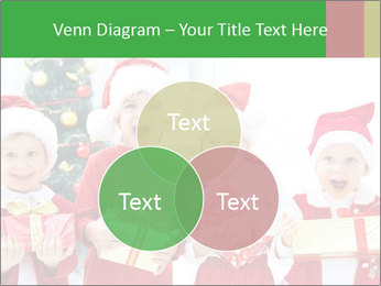 Four children in Christmas PowerPoint Template - Slide 33