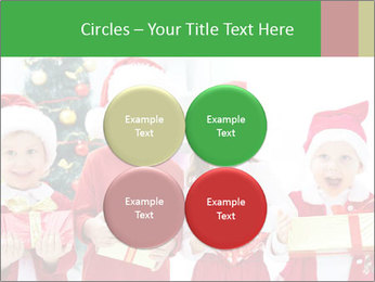 Four children in Christmas PowerPoint Template - Slide 38