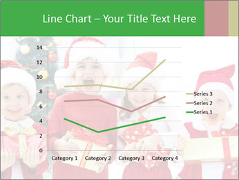 Four children in Christmas PowerPoint Template - Slide 54