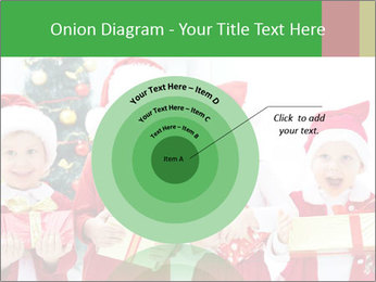 Four children in Christmas PowerPoint Template - Slide 61