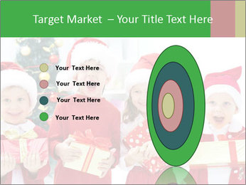 Four children in Christmas PowerPoint Template - Slide 84