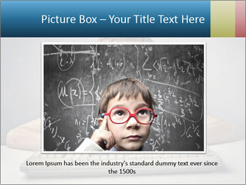 Child typing PowerPoint Template - Slide 15