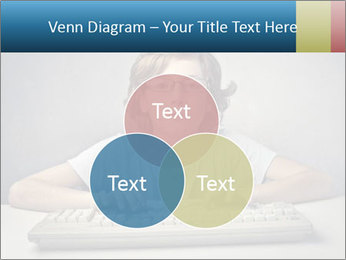 Child typing PowerPoint Templates - Slide 33