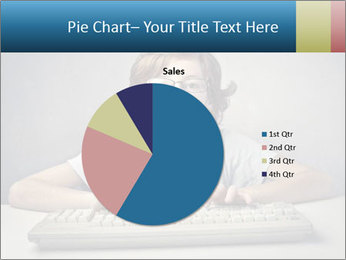 Child typing PowerPoint Templates - Slide 36