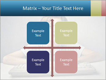 Child typing PowerPoint Templates - Slide 37