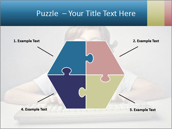Child typing PowerPoint Template - Slide 40