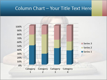 Child typing PowerPoint Template - Slide 50