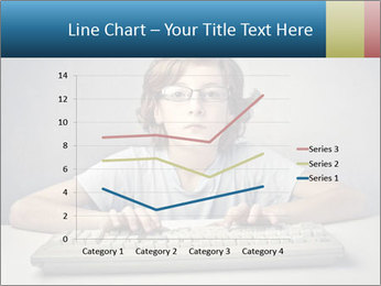Child typing PowerPoint Template - Slide 54