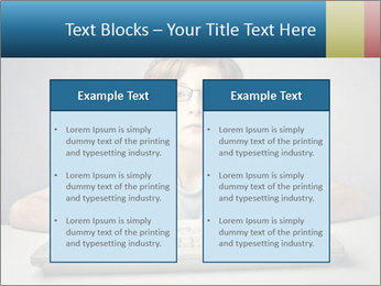 Child typing PowerPoint Templates - Slide 57