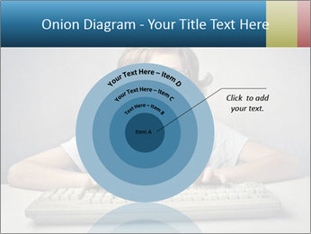 Child typing PowerPoint Template - Slide 61