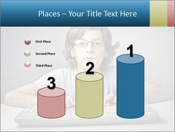 Child typing PowerPoint Templates - Slide 65