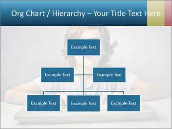 Child typing PowerPoint Template - Slide 66