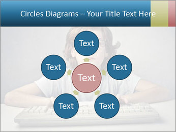 Child typing PowerPoint Template - Slide 78