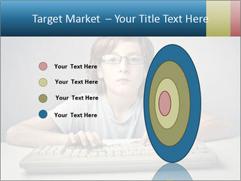 Child typing PowerPoint Template - Slide 84