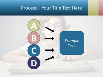 Child typing PowerPoint Templates - Slide 94